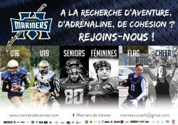 RECRUTEMENT MARINERS 2017/2018